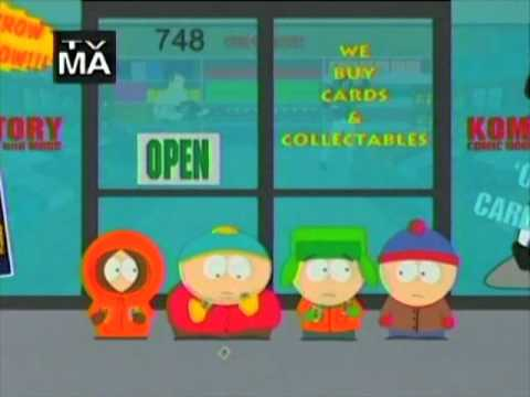 south park - trapped in the closet
