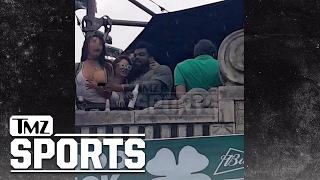 Ezekiel Elliott Exposes Woman's Breast at St. Patty's Party | TMZ Sports