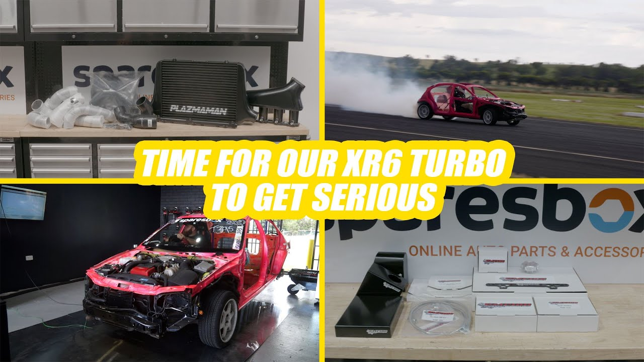 """Ford XR6 Turbo Kart """"Bazza"""" - Stage2 Power Mods Begin!- Day Job Ep5"""