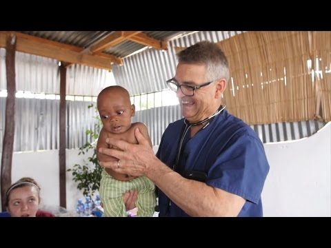 Pediatrician Who Quiets Crying Babies with Booty Shake Takes Skill To Africa