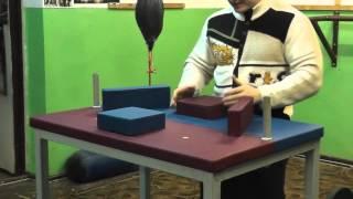 стол для армрестлинга сделали сами