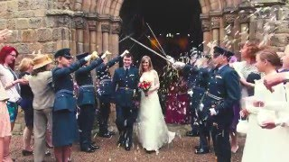 MELBOURNE VIEW Derby RAF Wedding - Nicola & Ryan