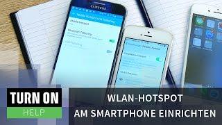 WLAN-Hotspot am Smartphone einrichten - HELP - 4K