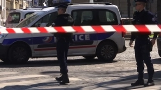 Raw: Letter Bomb Explodes at IMF Paris Office