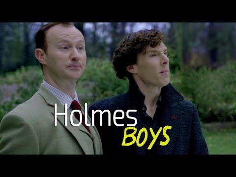 Holmes boys | Sherlock BBC