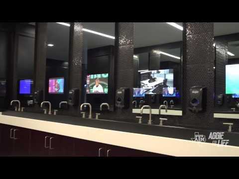 Texas A&M New Locker Room Reveal