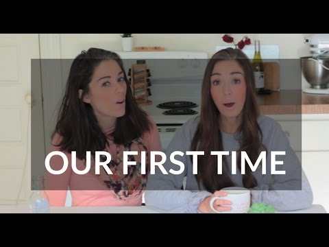 Girls try lesbian first time