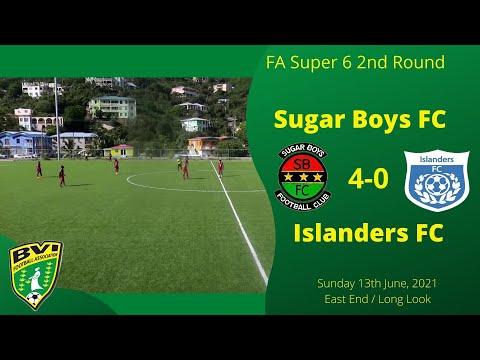 FA Super 6 2nd Rnd, Sugar Boys FC 4-0 Islanders FC, Sun 13th June, EE/LL, Tortola