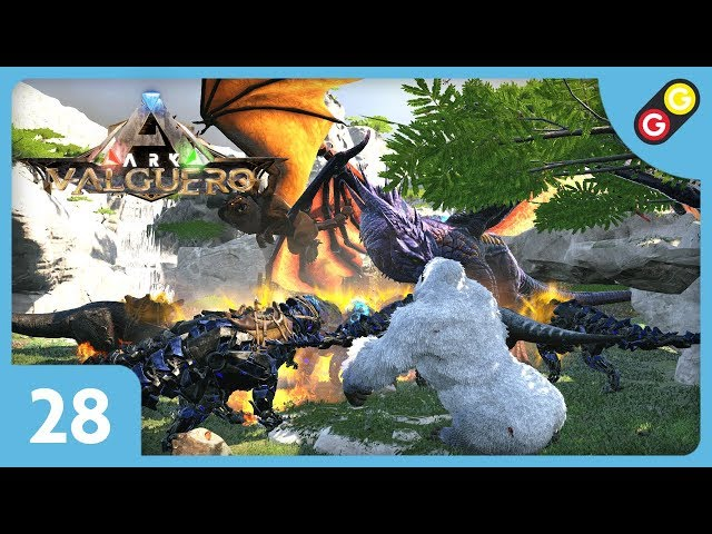 ARK : Survival Evolved - Valguero #28 On combat les 3 bosses en même temps ! [FR]