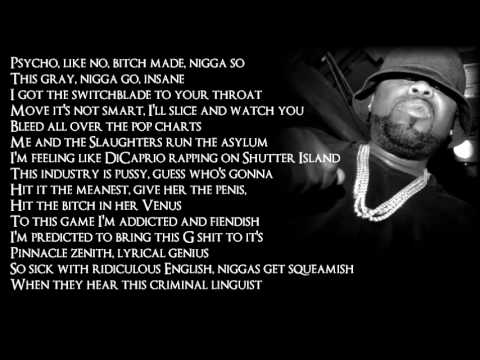 Slaughterhouse - Asylum ft. Eminem (Lyrics)