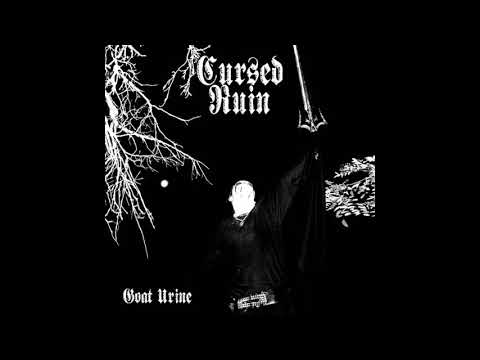 Cursed Ruin - Goat Urine (Demo : 2010) Raw Black Metal From United States.