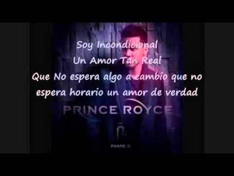 Prince Royce - Incondicional Lyrics