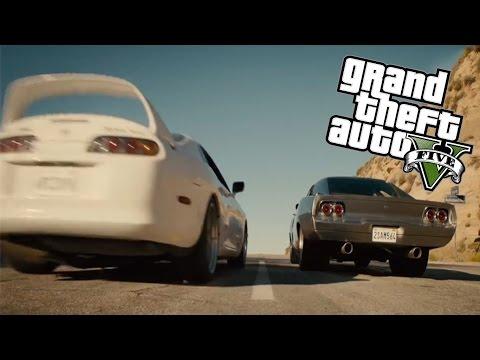 GTA 5 - Fast & Furious 7 - Paul Walker...
