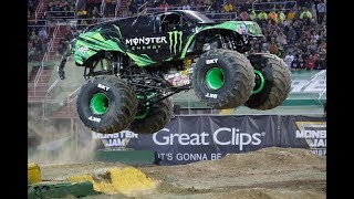 Monster Energy (Todd Leduc) ROBLOX Monster Jam World Finals XX Freestyle
