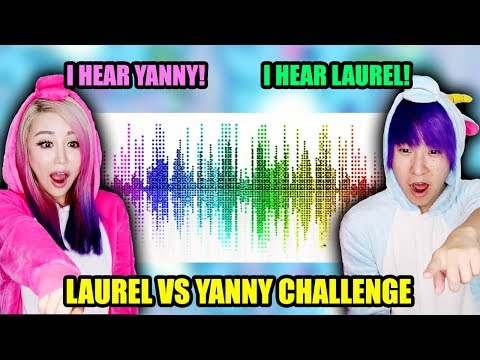 Laurel vs Yanny Challenge!