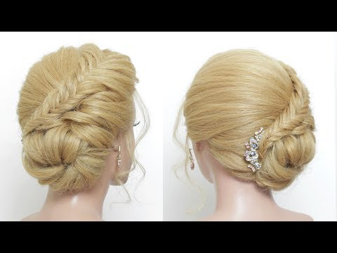 Easy Prom Updo For Long Hair Tutorial