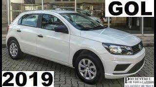 VW GOL 1.0 2019 TRÊS CILINDROS COM MUIOS DETALHES