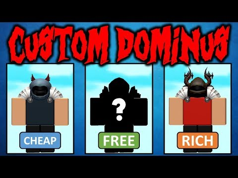 I Made 5 Custom Dominuses Free Normal Rich Youtube