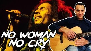 Bob Marley - No Woman No Cry - Easy Guitar Lessons