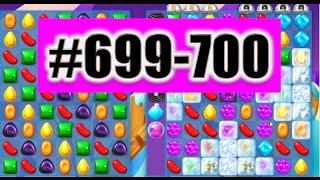 HARD LEVEL! Candy Crush Soda Saga Level 699-700. Done!