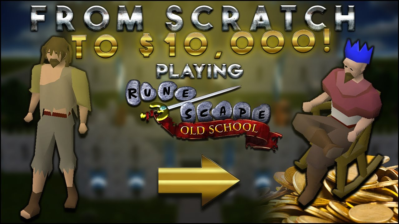 Road To $10,000 From Scratch: (Episode 1) OSRS