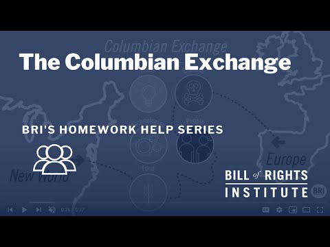 The Columbian Exchange | Homework Help
