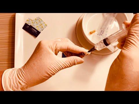 Как делать укол в ягодицу самому себе видео