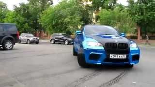 BMW X6M СИНЯЯ зеркальная пленка BLUE chrome(BMW X6M СИНЯЯ зеркальная пленка BLUE chrome., 2013-03-25T14:08:26.000Z)