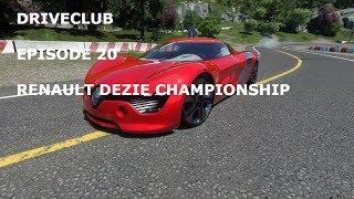 DRIVECLUB-Episode 20-(RENAUT DEZIR CHAMPIONSHIP)