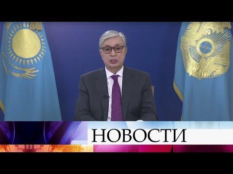 В Казахстане внеочередные