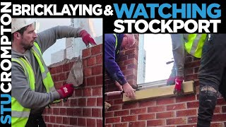 Bricklaying/ Blockwork and Stockport vs Southport VLOG with KC 19/02/19