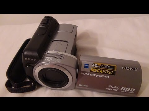 2008 Sony Handycam DCR SR65 Review And Test