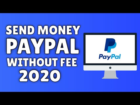 How To Send Money On PayPal Without Paying A Fee (2020) ✅