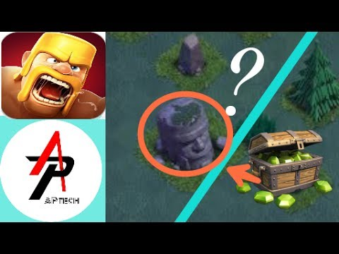 Clash Of Clans Old Barbarian Statue Secret