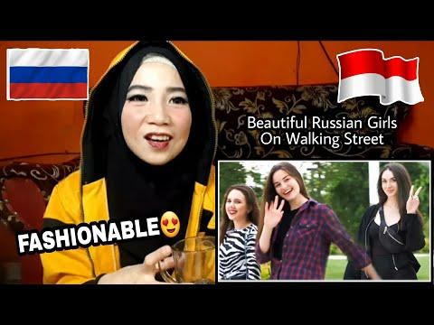 RUSSIAN GIRLS Reaction | Beautiful On Walking Street In Krasnodar Russia (React Video)
