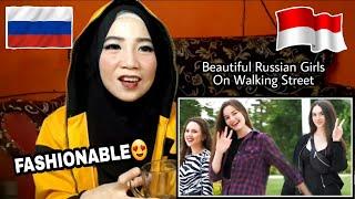 RUSSIAN GIRLS Reaction   Beautiful On Walking Street In Krasnodar Russia (React Video)