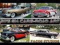 GM Cars Rolling Art 1957