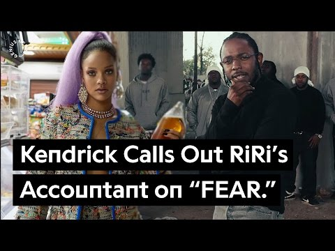Rihanna's Accountant Gets Called Out On Kendrick Lamar's