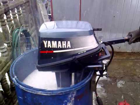 Yamaha 6 hp outboard motor 2 stroke dwusuw youtube for 25hp yamaha 2 stroke
