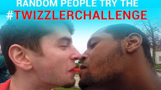 Random Students Do the Twizzler Challenge #TwizzlerChallenge