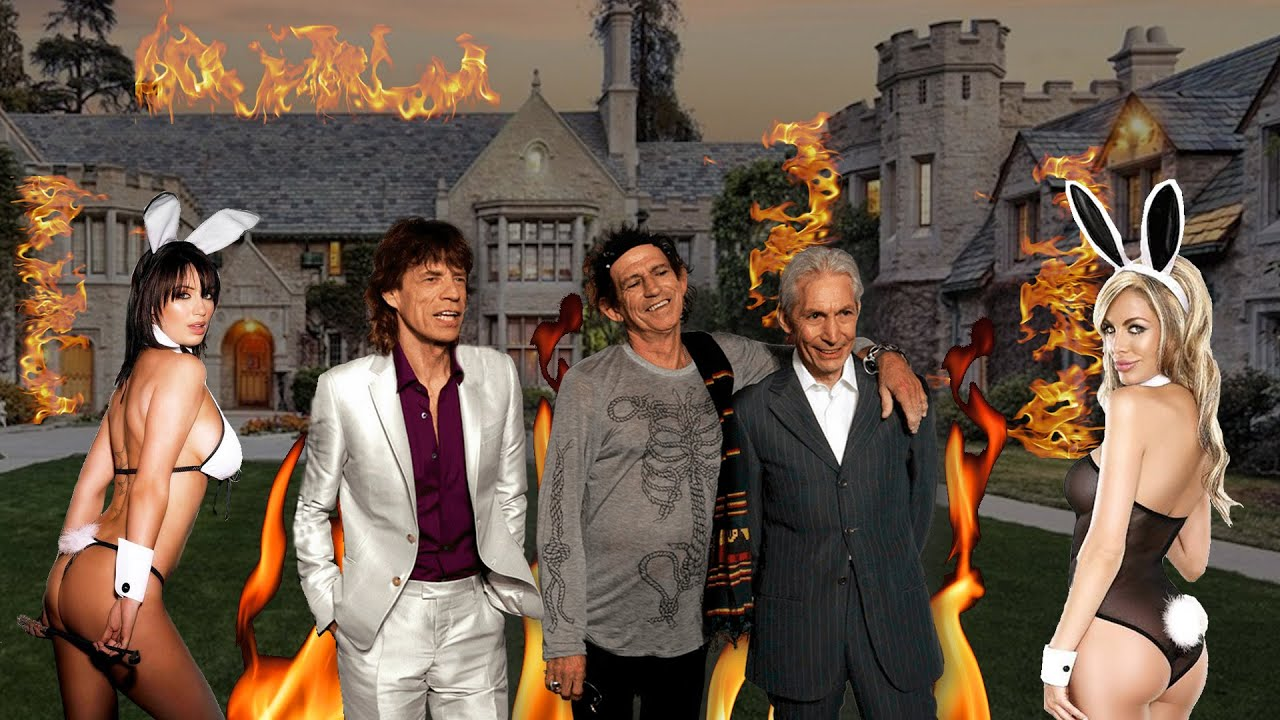 The ROLLING STONES INCENDIARON PLAYBOY (historia real)