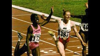 Gwen Torrence vs. Irena Privalova - Women's 100m - 1994 Goodwill Games