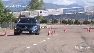 Renault Talisman Maniobra de esquiva moose test y eslalon km77.com