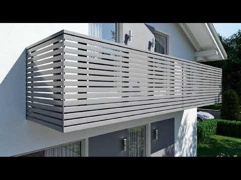 Перила для балконов и террас. Стильные фото решения!