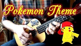Jason Paige - Pokemon Theme [fingerstyle ukulele cover]