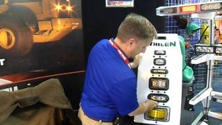 Video still for Mark from Whelen Engineering at ConExpo 2014
