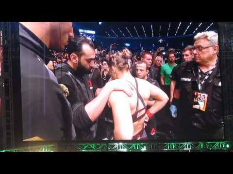 Ronda Rousey UFC 193 Entrance