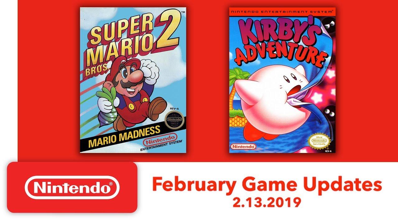 Nintendo Entertainment System February Game Updates
