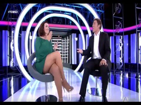 Silvia Abril hot legs 10/02/15