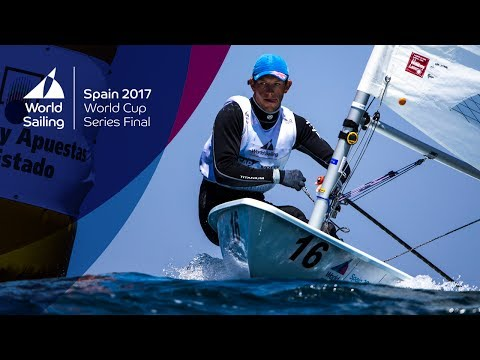 Full Laser Medal Race from the World Cup Series Final in Santander 2017